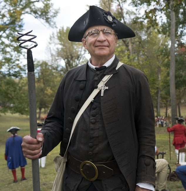 Oct 21, 2017 - Mr Dyer at 44th Annual Fort Massac Encampment, Metropolis, IL/photonews247.com
