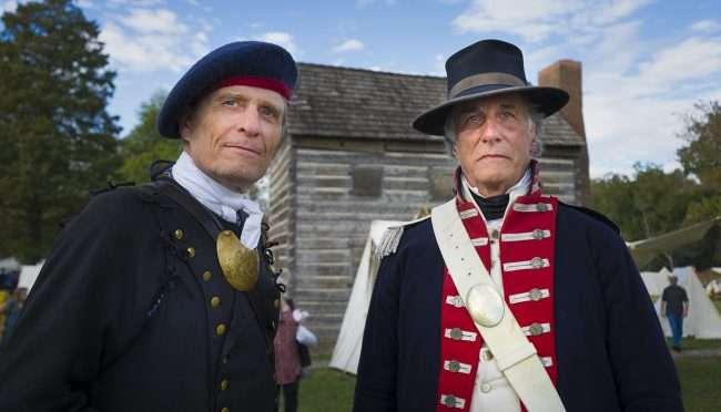 Oct 21, 2017 - Handsome reenactors participating at the 44th Annual Fort Massac Encampment, Metropolis, IL/photonews247.com