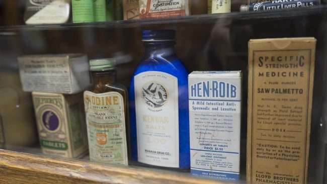 Nov 17, 2017 - Antiquated Medicine bottles Market House Museum, Paducah KY/photonews247.com