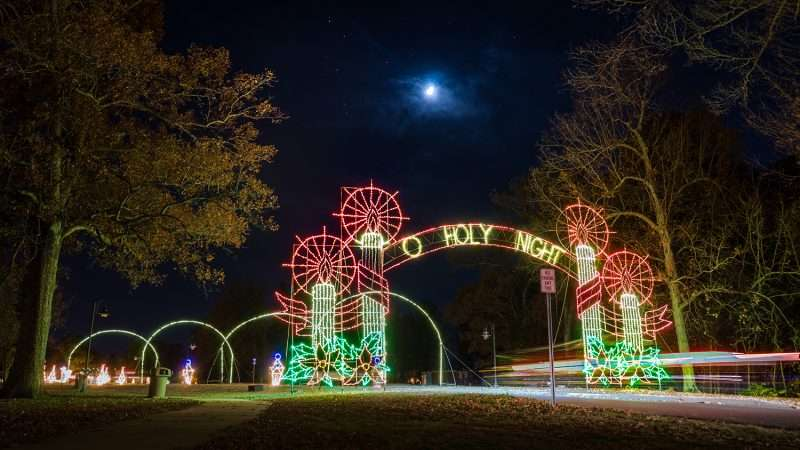 Nov 24, 2017 - Christmas Noble Park Paducah moonlite 'O Holy Night'/photonews247.ccom