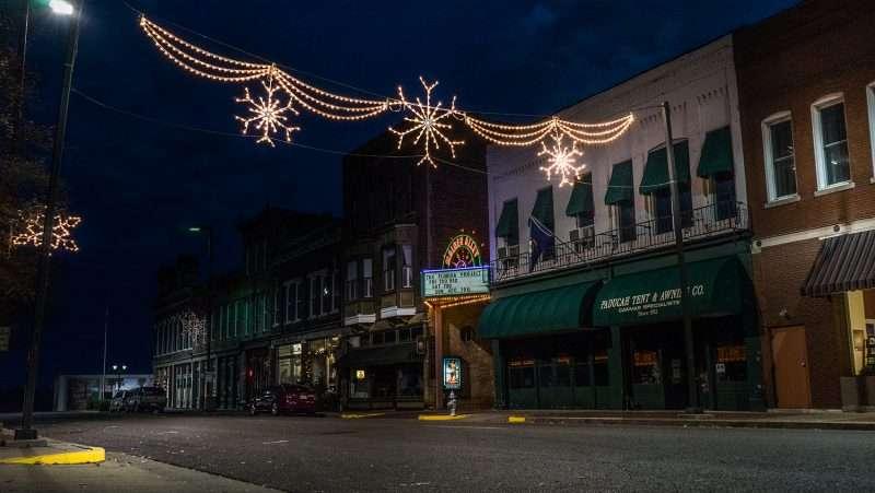 christmas lights downtown columbus ohio