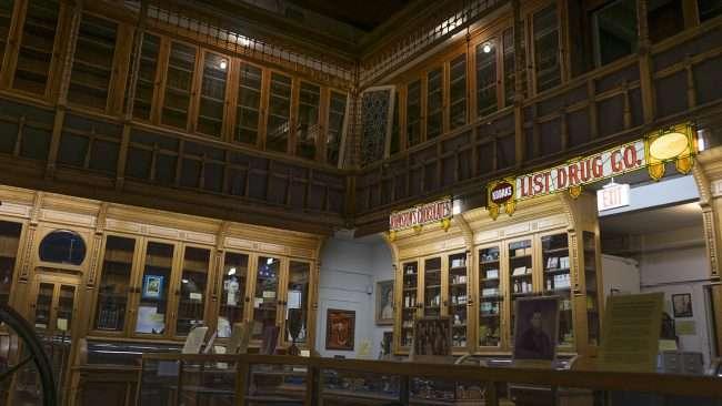 Nov 17, 2017 - List Drug Co and Drug Store at Market House Museum Paducah/photonews247.com