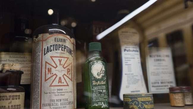 Nov 17, 2017 - Medicine Elixir Lactopeptine Market House Museum, Paducah KY/photonews247.com
