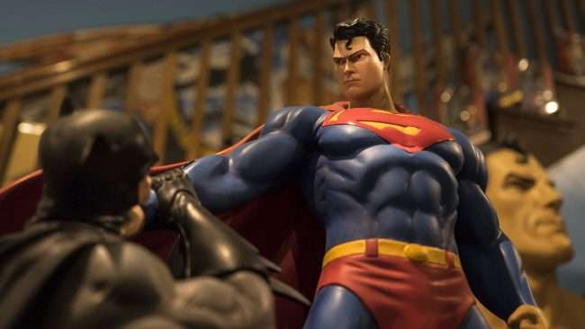 Nov 12, 2017 - Superman defeats Batman at Super Museum Metropolis, IL/photonews247.com