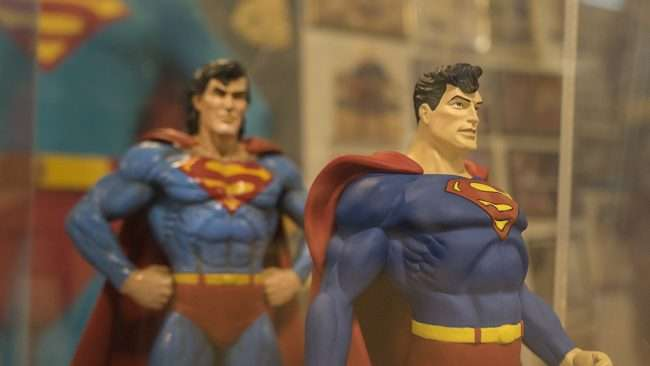 Nov 12, 2017 - Superman toy dolls at Super Museum Metropolis, IL/photonews247.com