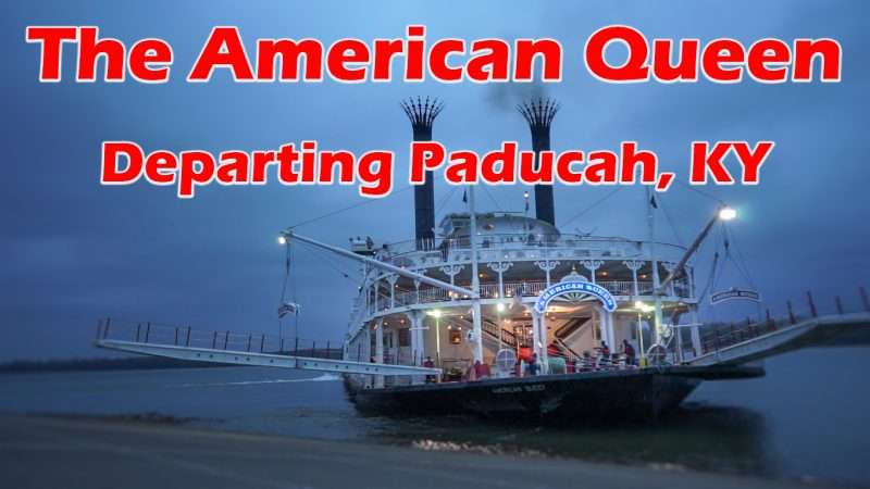 Nov 4, 2017 - The American Queen Riverboat departing Paducah Ky/photonews247.com