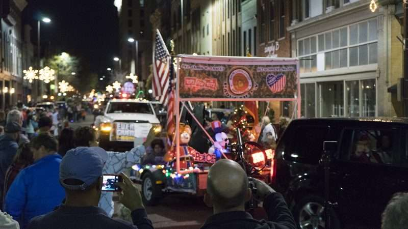 Dec 2, 2017 - Floats participating in Paducah's Christmas Parade on Historic Main Street (Broadway)/photonews247.com