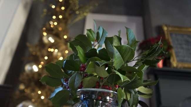 Dec 12, 2017 - Christmas decor at Smedley Yeiser Juniper Bar Paducah KY/photonews247.com