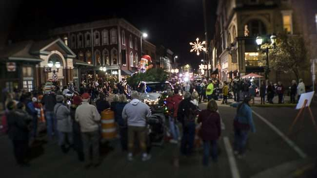 Dec 2, 2017 - General view of Christmas Parade Downtown Paducah/photonews247.com