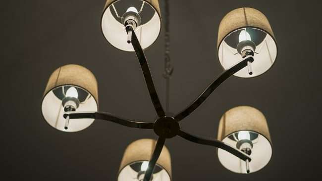 Dec 8, 2017 - Light fixtures in Herbane Shop in historic Smedley Yeiser building downtown Paducah, KY/photonews247.com