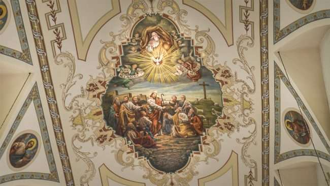 Dec 21, 2017 - Painting on ceiling inside St Louis Cathedral New Orleans LA/photonews247.com