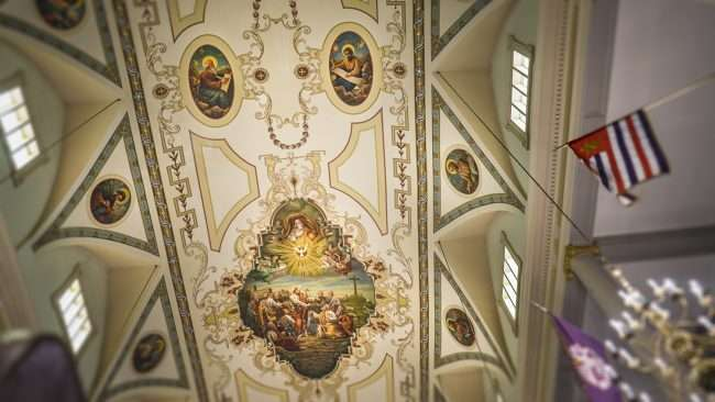 Dec 21, 2017 - Paintings on ceiling inside St Louis Cathedral New Orleans LA/photonews247.com