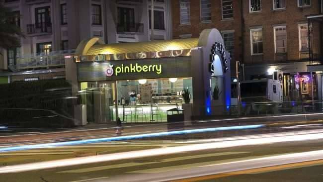 Dec 20, 2017 - Pinkberry at DoubleTree on Canal Street, New Orleans, LA/photonews247.com