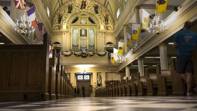 Dec 21, 2017 - Pipe organ at St. Louis Cathedral in New Orleans, LA/photonews247.com