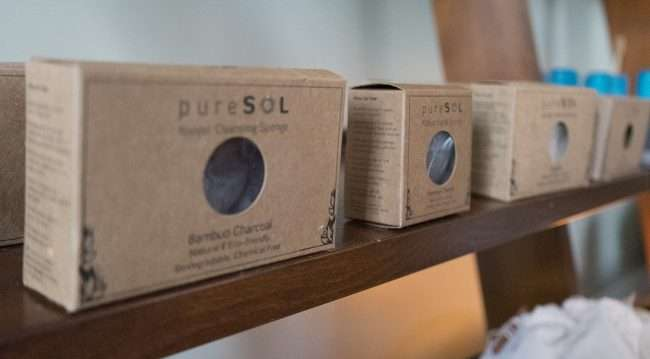 Dec 8, 2017 - PureSOL Sponge at Herbane Organic Store, downtown Paducah KY/photonews247.com