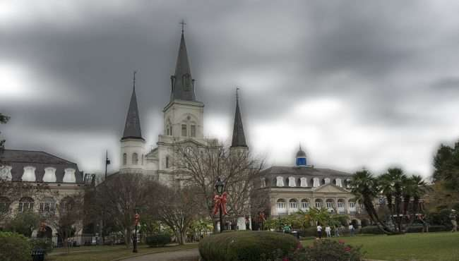 Dec 21, 2017 - St. Louis Cathedral New Orleans, LA/photonews247.com