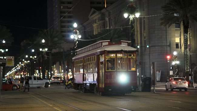 Dec 20, 2017 - Streetcar on Canal Street, New Orleans, LA/photonews247.com