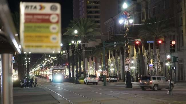 Dec 22, 2017 - Streetcars on Canal Street, New Orleans, LA/photonews247.com