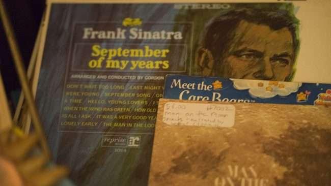 Dec 8, 2017 - Vinyl records sold at Herbane Organic Soaps Store, downtown Paducah KY/photonews247.com