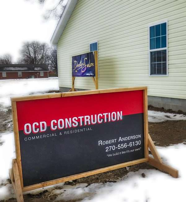 Jan 20, 2018 - OCD Construction (Robert Anderson) builds Destini's Salon, Paducah, KY/photonews247.com