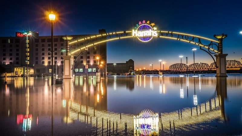 03.02.2018 - Harrah's Hotel Casino Metropolis, IL flooded/photonews247.com