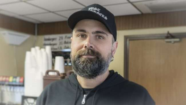 03.19.2018 - Owner Robert Waller of Just Hamburgers, Paducah, KY/photonewsw247.com