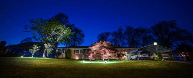 April 29, 2018 - Beautiful home during the Paducah Lighted Dogwood Trail/photonews247.com