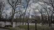 03.02.2018 - Flooded Campground at Fort Massac State Park in Metropolis, IL/photonews247.com