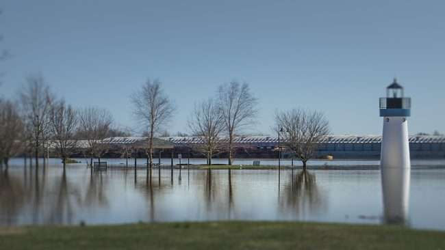03.02.2018 - Flooding at Dorothy Miller Park Metropolis, IL/photonews247.com
