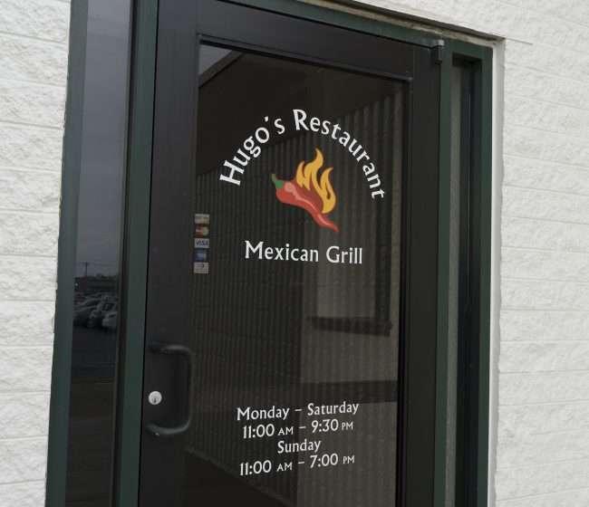 3.16.2018 - Hugo's Restaurants Mexican Grill front door at Kentucky Oaks Mall/photonews247.com
