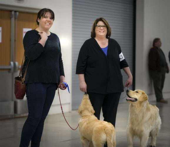 April 7, 2018 - Mother (R) and Daughter (L) win at Kennel Club Paducah Dog Show/photonews247.com