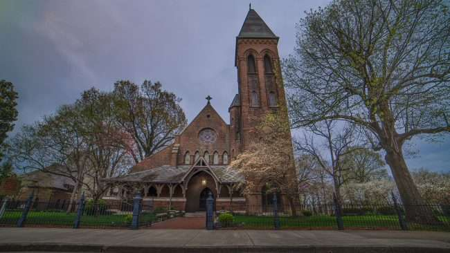 April 15, 2018 - Grace Episcopal Church Broadway Main Street Historic downtown Paducah KY/photonews247.com