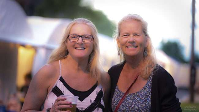 May 18, 2018 - Beautiful ladies attending Lower Town Arts & Music Festival in Paducah, KY/photonews247.com