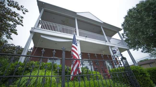 May 28, 2018 - United State Flags on Memorial Day in the Lower Town neighborhood of Paducah, KY/photonews247.com