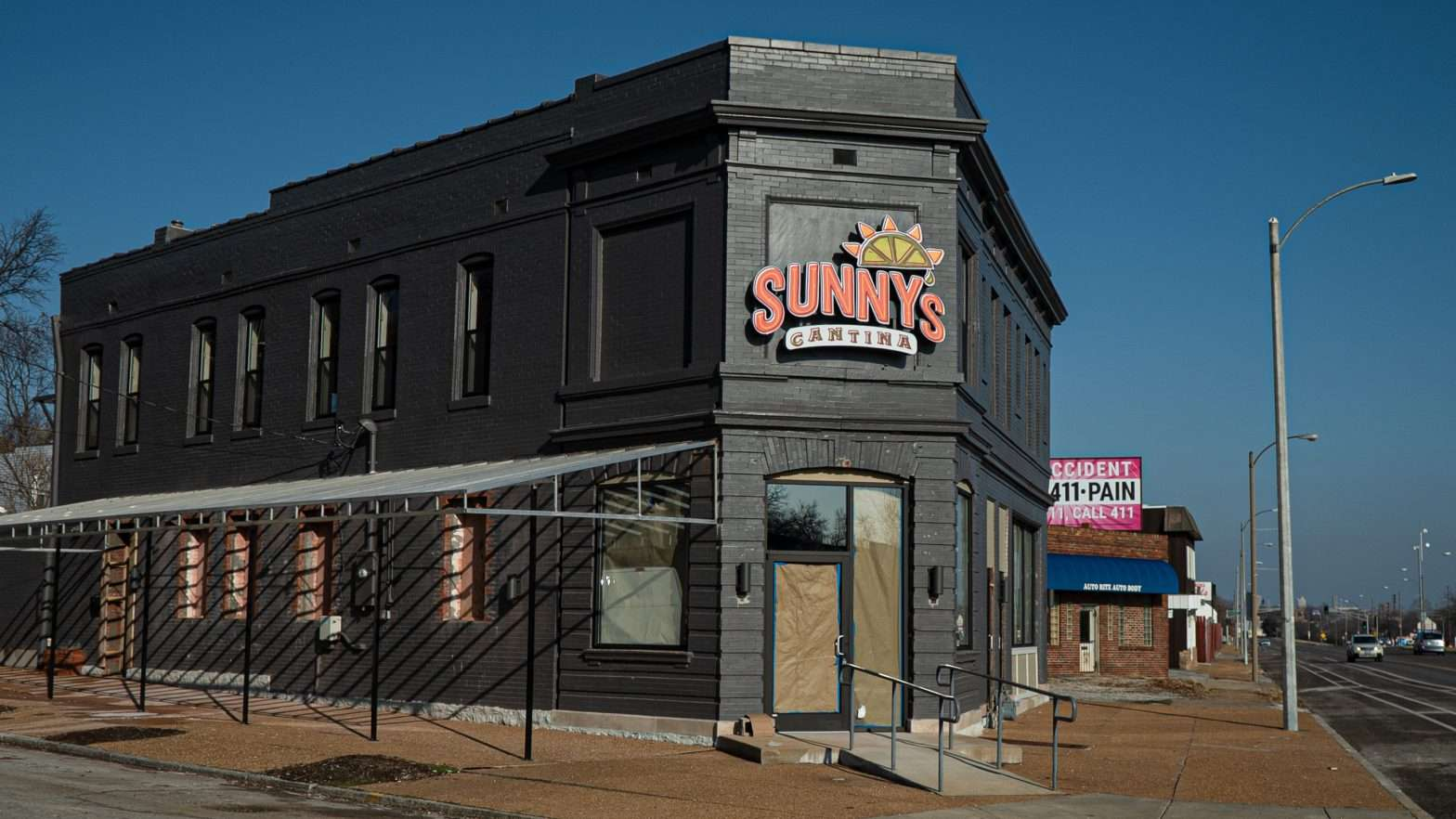 Sunny Cantina Mexican Restaurant on Manchester Avenue in the Dogtown neighborhood of St. Louis.
