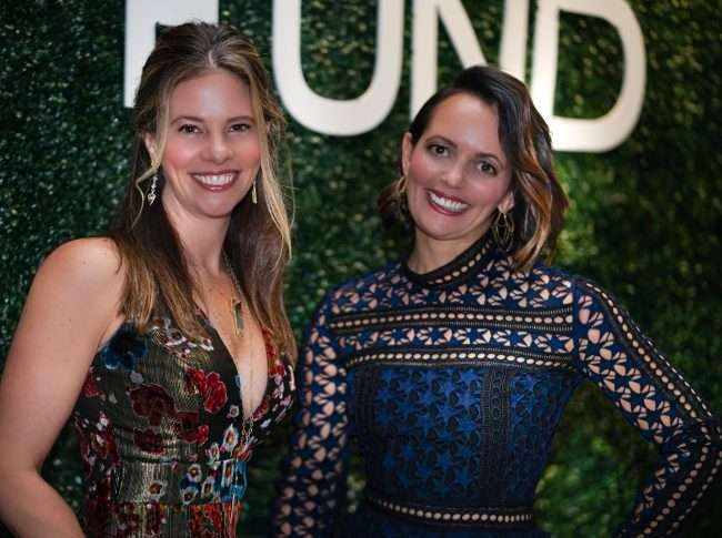 Courtney Nolan and Whitney Kenter for Saint Louis Fashion Fund Gala Neiman Marcus. credit craig currie