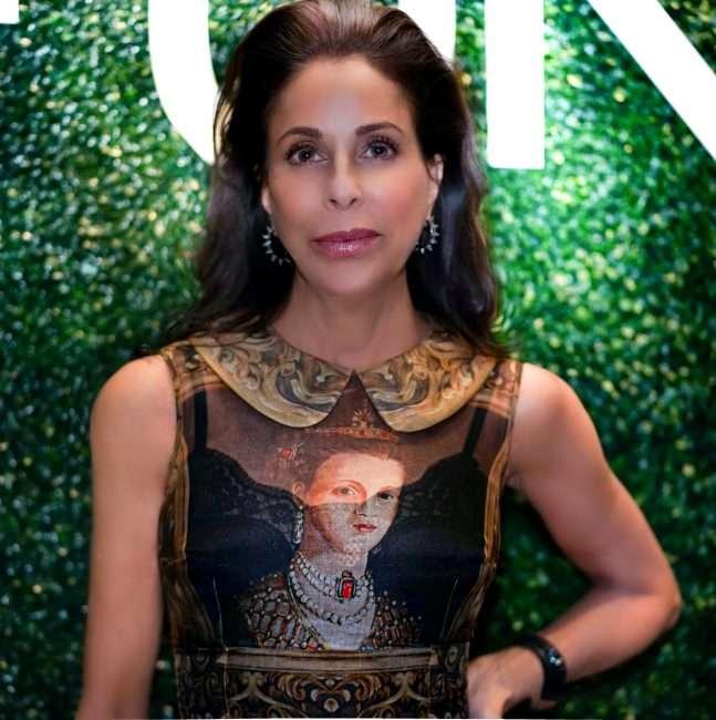 Helene Sayad at Saint Louis Fashion Fund Gala Party. credit craig currie
