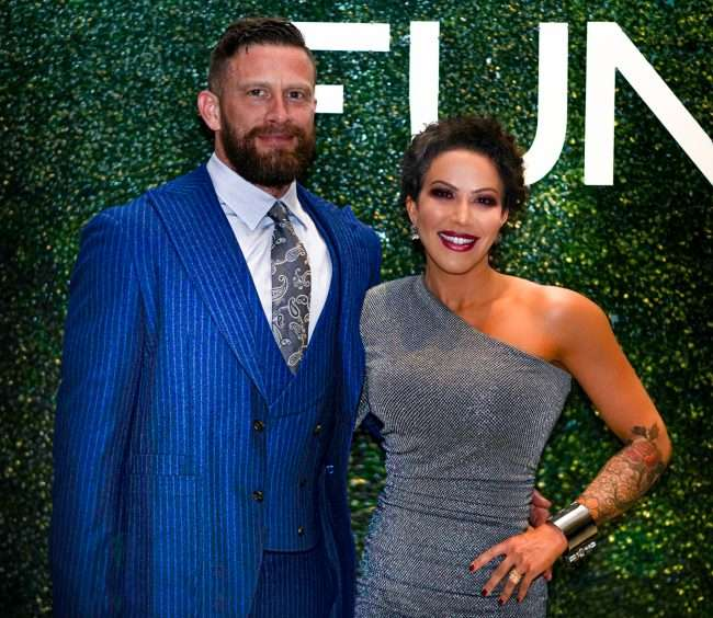 Michael and Shereen Fischer attend St Louis Fashion Fund Gala at Neiman Marcus. credit craig currie