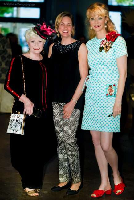 St. Louis Fashion Fund left-to-right with Dianne Isbell, Rogene Nelsen, Kelly Boster Hoffman. credit craig currie