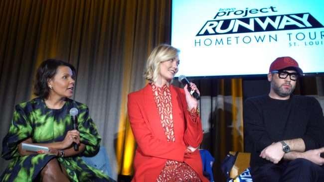 Tania Beasley, Karlie Kloss at The Last Hotel STL. credit craig currie