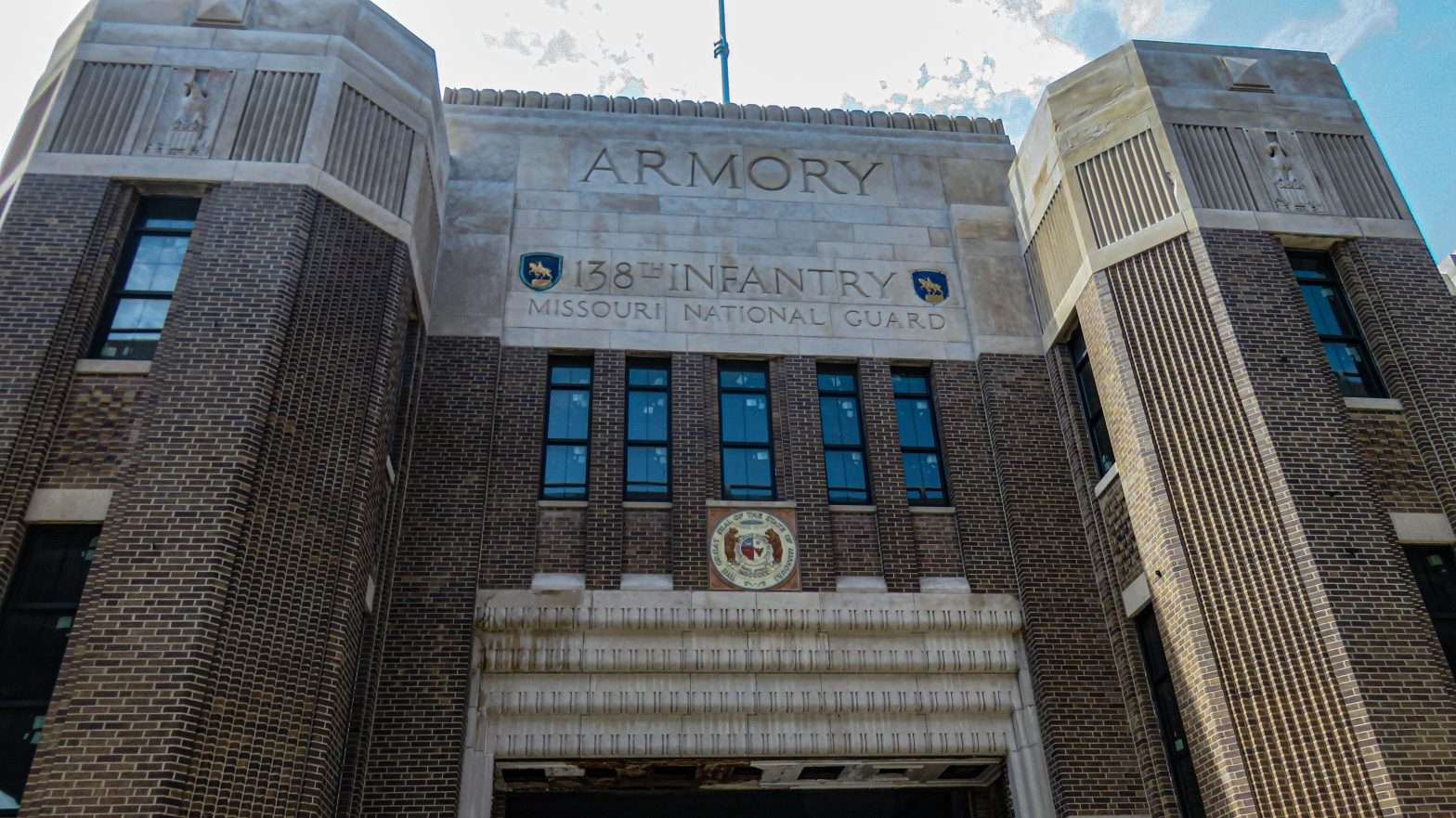 Armory National Guard building in St. Louis. credit craig currie