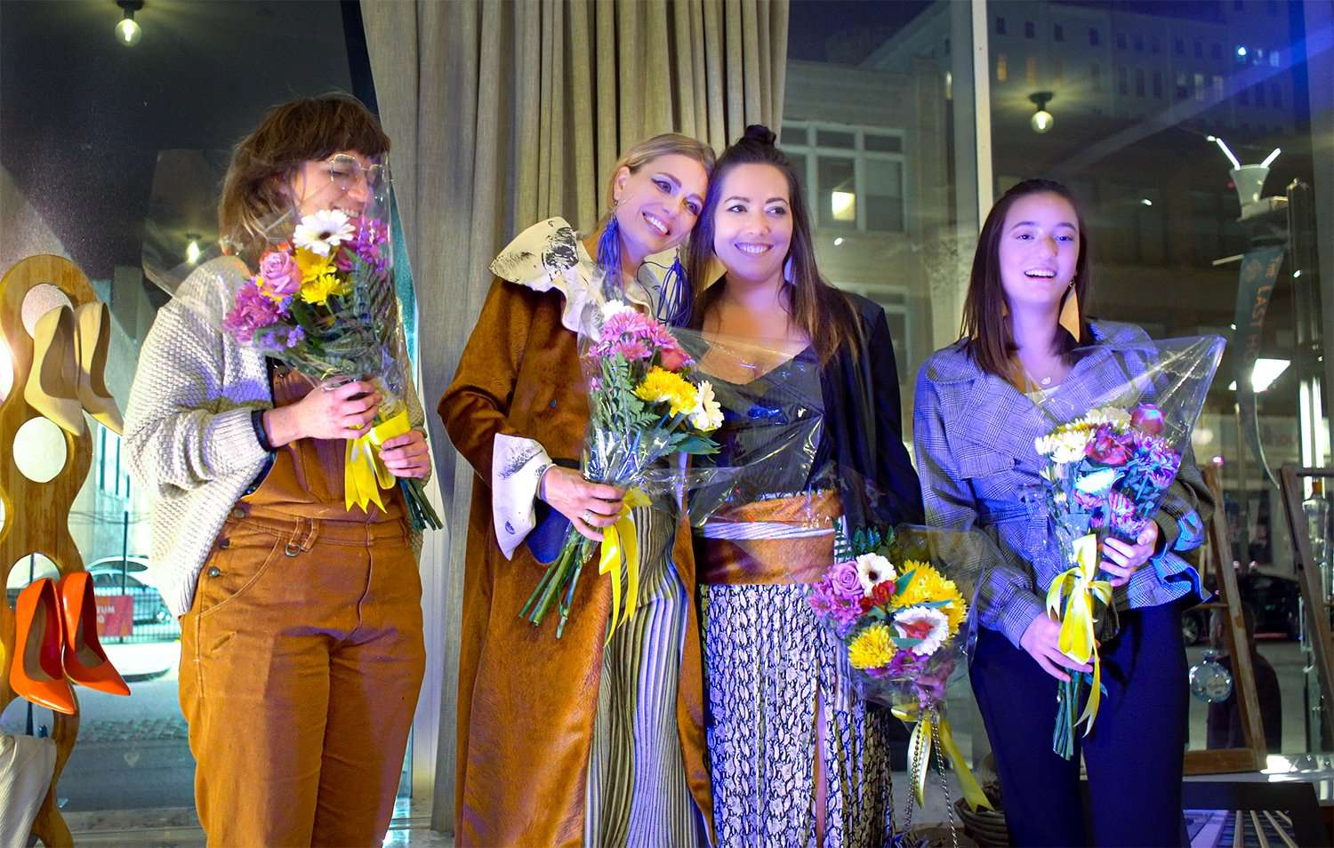 Barbara Bultman and Galina Angheluta, Megan Blanchard win Fashion Anarchy Final in 2019 at The Last Hotel in St. Louis. credit craig currie