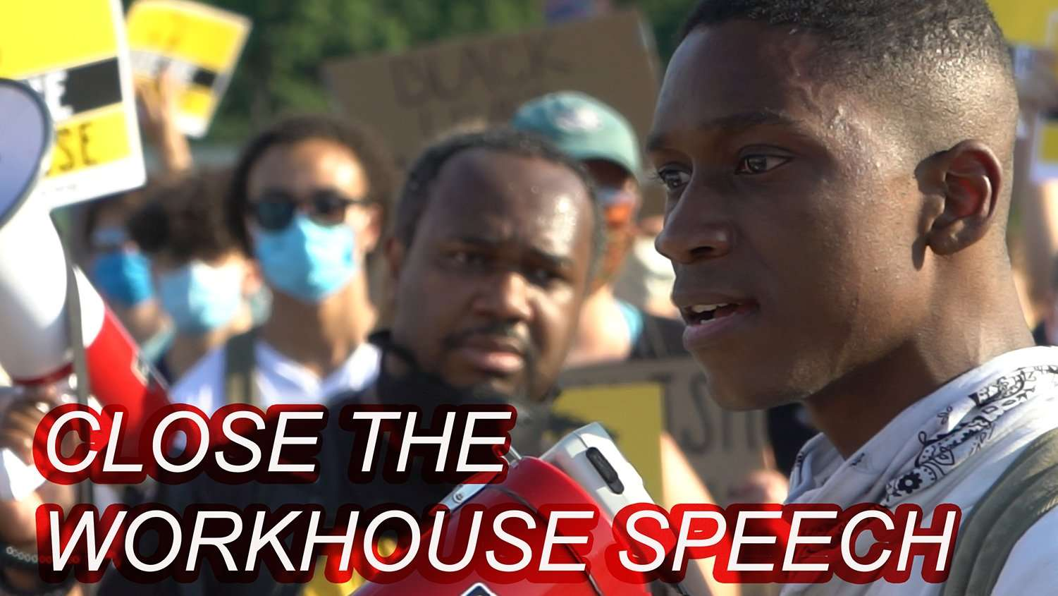 Close the workhouse Speech YouTube cover