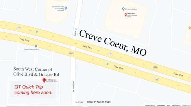 QT at Olive Blvd & Graeser Rd, Creve Coeur coming soon