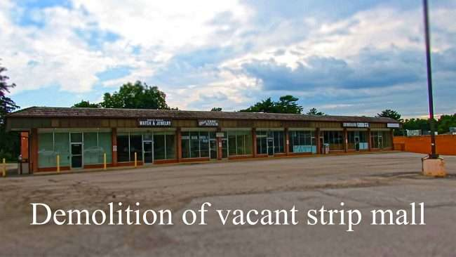 Vacant Strip Mall Olive and Graeser Rd, Creve Coeur