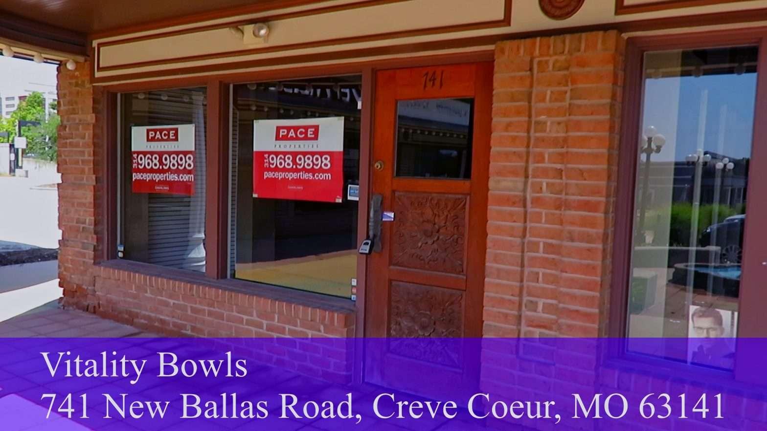 Vitality Bowls, Creve Coeur coming soon