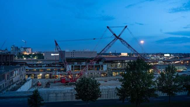 City Foundry STL under construction Summer 2019. credit craig currie