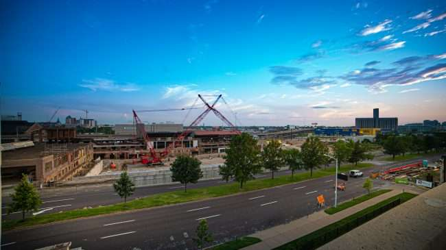 The Foundry STL St Louis construction Summer 2019. credit craig currie