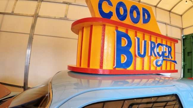 Good Burger sign on Burger Mobile at Hi-Point Drive-in St. Louis. (credit craig currie)