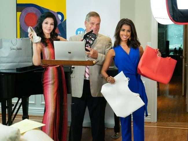Miran Halen, William Greenblatt and Jasmine Huda during Beauty Buzz by St Louis Press Club and Neiman Marcus. credit craig currie